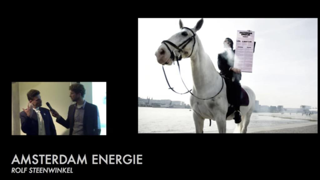 Livestream van StadLabAmsterdam met over lokale en particuliere zonne- en windenergie projecten vanuit Pakhuis de Zwijger
