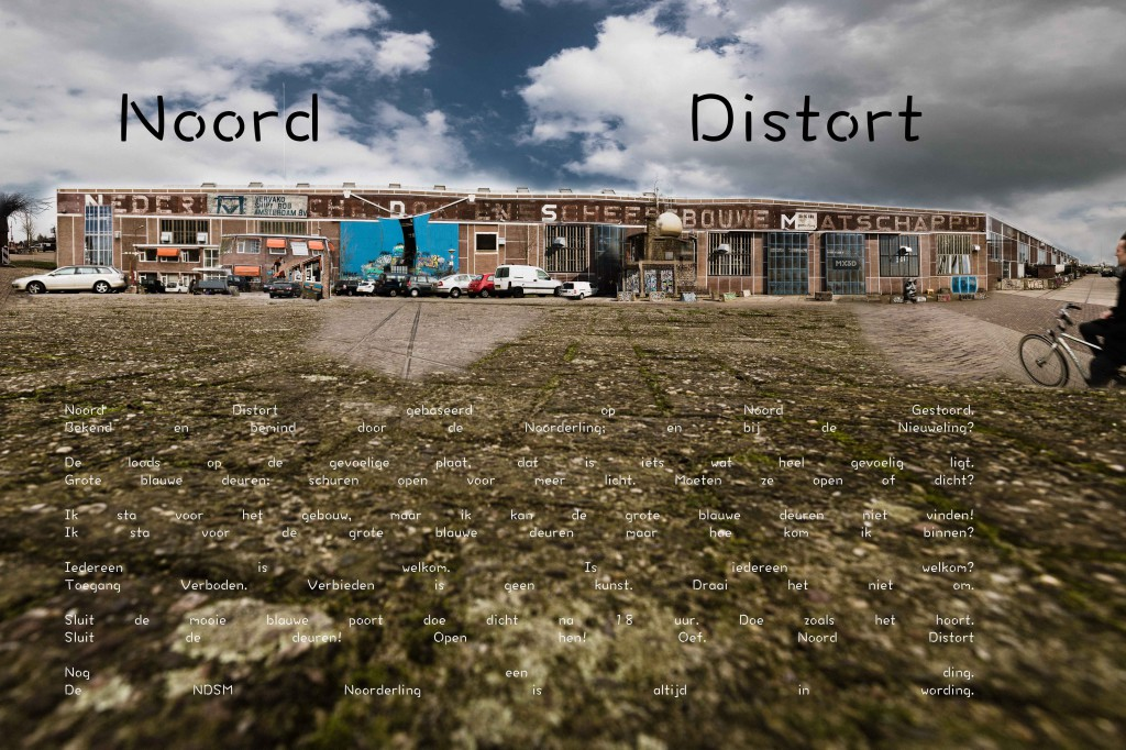 NDSM Noord Gestoord