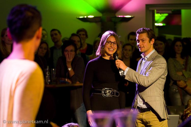 Livestreamuitzending van de 1procentclub in Pakhuis de Zwijger