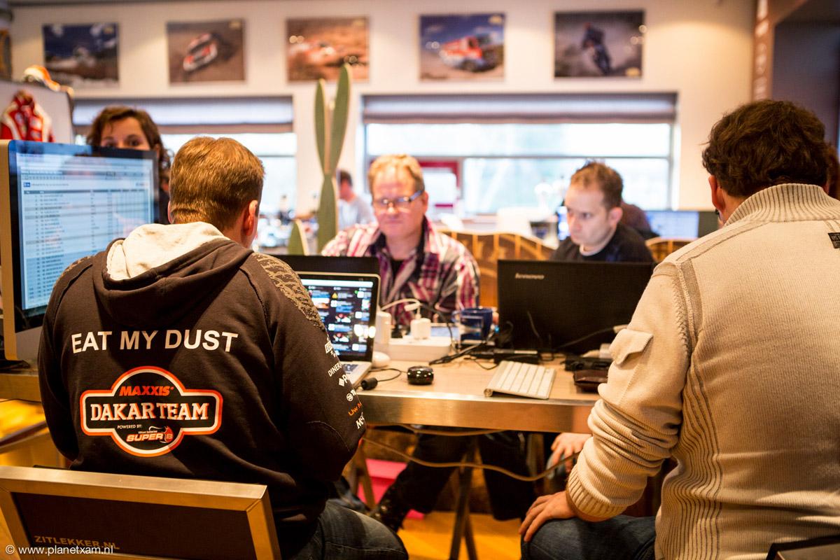 Dakar Rally; dagelijkse interactieve livestream vanuit de Maxxisroom t/m 18 januari 2014
